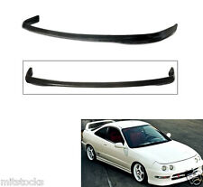 94-97 ACURA DC2 INTEGRA 2 4 DOOR TYPE R PU BLACK ADD-ON FRONT BUMPER LIP SPOILER