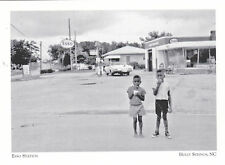 """~Post Card~""""Esso Gas Station"""" 2 Kids/Ice Cream- *Holly Springs NC (#207)"""