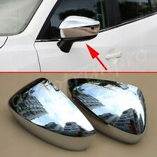 2X Rear Side View Mirror Protector Cover Trim For Mazda 3 M3 2014-2016 Accessory