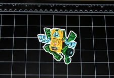 Transformers G1 Brawn box art vinyl decal sticker Autobot toy 1980's 80s