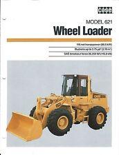 Equipment Brochure - Case - 621 - Wheel Loader - c1988 (E3709)