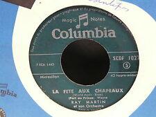 RAY MARTIN La fete aux chapeaux / la valse du carrousel SCDF 1027 JUKE BOX