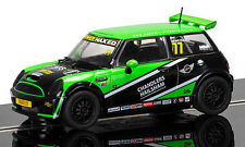 Scalextric Mini Cooper S No77 Mini Challenge 2015 Donington Park (C3743) *New*