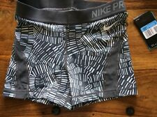 Ladies Nike Pro Compression Shorts Size Medium