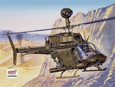 Italeri 1/48 Bell OH-58D Kiowa Helicopter  #2704 *Sealed*