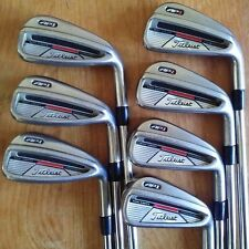 Titleist AP1 Iron Set 4-PW Regular Flex Steel Titleist NS Pro 970 R-Flex Shafts!
