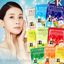 Korea Collagen Essence Full Face Facial Mask Sheet - Combo Pack (20 Pack)
