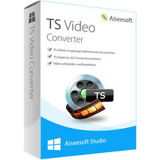 TS Video Converter WIN Aiseesoft dt.Vollversion-lebenslange Lizenz  Download