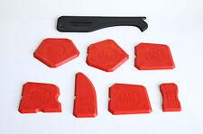 8 Silikon Spachtel Spachtelset Fugenglätter Fugen Set Silikonfuge Fugenabzieher