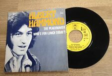 45 tours Albert Hammond The peacemaker / Who's for lunch today ? 1973 EXC