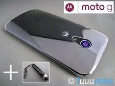 """Funda Carcasa dura Transparente para Motorola Moto G (2014) 5"""" - La más fina!!!"""