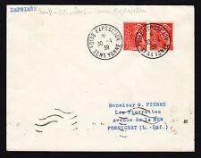 FRANCE LETTRE, FOIRE EXPOSITION DE SENS 30-4-1939, (F156)