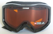 Quiksilver Fenom Snow Goggles - Black / Orange - New