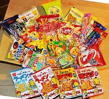 Selected Japanese Snack Box Set, 26pc of snacks/candies/dagashi