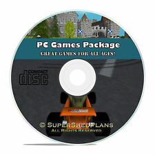 PC Games CD, Racing Simulator, Arcade, Fantasy, Role Playing, Board Games ++