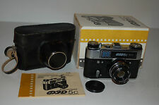 FED 5C Vintage Soviet Rangefinder Camera. Industar-61L/D Lens. Boxed. No.119476.