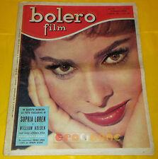 BOLERO FILM 1958 n. 574 Sophia Loren, Brigitte Bardot
