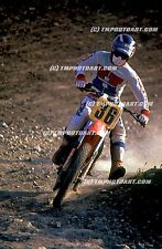 Danny MAGOO Chandler Honda MX Art 12 x 18 Photo Print Motocross Saddleback