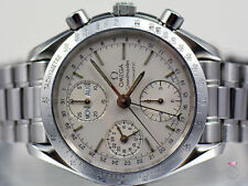 OMEGA SPEEDMASTER AUTOMATIC WATCH, TRIPLE CALENDAR STAINLESS STEEL 3521.30.00