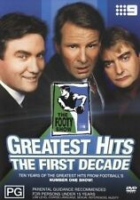 THE FOOTY SHOW GREATEST HITS - THE FIRST DECADE (AS NEW) ALL REGIONS (Oz SELLER)
