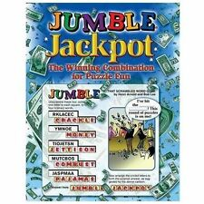 Jumble Jackpot : The Winning Combination for Puzzle Fun by Tribune Media...