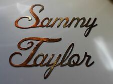 Personalized custom Name in Cursive Style  7 to 9 letters
