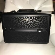 SEPHORA COLLECTION Strike Wild Train Case Makeup Box With Keys & Strap BNIB