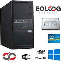 PC DESKTOP COMPUTER FISSO INTEL CORE i5 RAM 8 GB SSD 240 GB / WINDOWS ORIGINALE