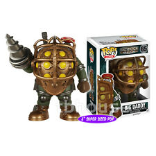 "6"" BIG DADDY BOUNCER figure BIOSHOCK funko POP GAMES vinyl DELUXE SUPER-SIZED 65"