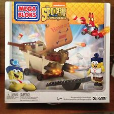 Spongebob Pirate Ship Sponge Out Of Water Megablocks Building Set MISB NEW