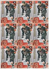 10ct Jake Virtanen 2014 ITG Heroes & Prospects 10th Anniversary Lot *X1065