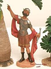 "FONTANINI DEPOSE ITALY 4"" ROMAN SOLDIER NATIVITY VILLAGE FIGURE NEW"