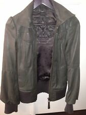 Mackage Aritzia leather jacket. Slimming And Flattering Fit