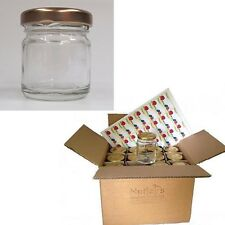 Set Of 30 Small Glass Jam Jars 42ml Storage Containers With Lids Weddings Home