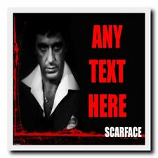 Al Pacino Scarface Personalised Drinks Mat Coaster
