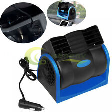 DC 12V Auto Car Truck Vehicle Cooling Air Fan Speed Adjustable Silent Cooler USA