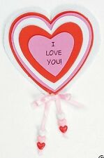 I Love You! Foam Magnet Craft Kit Valentine Day Gift  - 3 Pack