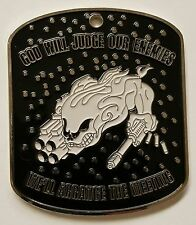 160th SOAR (A) Tier 1 SOF Command SM Dog Tag Coin Silver Plated 1st Battalion