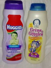 Gerber Grins & Giggles Berry & Huggies Lavender Chamomile Baby Lotion lot