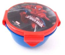 Marvel Ultimate Spider-Man Boy's Kids Round 3D Lunch Container NWT