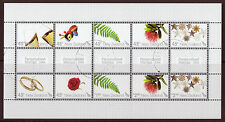 NEW ZEALAND 2006 PERSONALISED STAMPS SHEETLET/SET OF 10 FINE USED