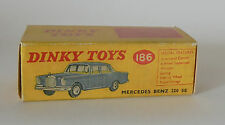 Repro Box Dinky Nr.186 Mercedes Benz 220 SE