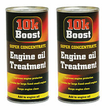 2 x 10K Boost Super Concentrate Petrol Engine Oil Treatment Additive 300ml