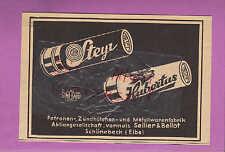 SCHÖNEBECK Werbung 1936 Patronen-Zündhütchen-Metallwaren-Fabrik AG vorm. Sellier