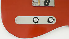 Telecaster 2-hole Custom Control Plate, Aircraft Aluminum by RockRabbit Guitars