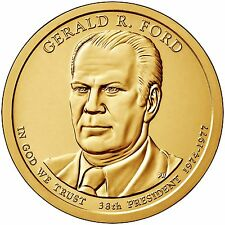 2016 Gerald R Ford Presidential Golden Dollar P&D AVAILABLE NOW