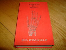 R D WINGFIELD-A TOUCH OF FROST-SIGNED LTD-1ST-HB-NF/F-POST MORTEM-VERY RARE
