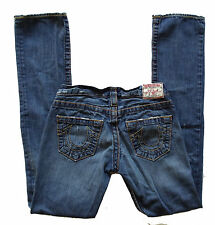 TRUE RELIGION~WOMENS JOHNNY BIG T JEANS~25 x 33~EUC