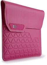 """CaseLogic pink iPad/ tablet water resistant sleeve/ pouch (fits upto 10"""")"""