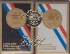 1984 Olympic Games LA  Mint Edition Boxed Playing card set Rare